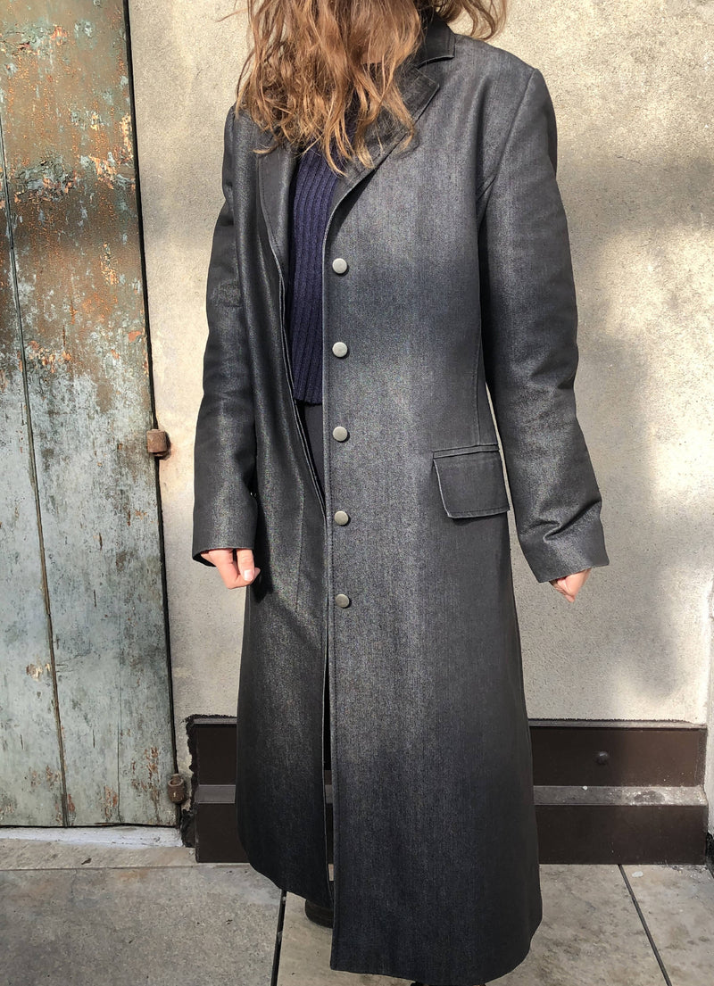 Guess Collection Vintage Autumn Women Long Coat Made in Italy