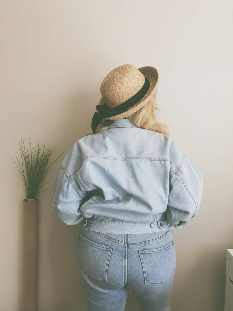 Lucky Brand Light Wash Denim Jacket