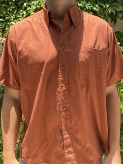 Nono's Terracota Buttondown