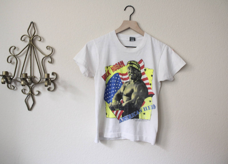Rare Vintage Hulk Hogan Distressed Tee
