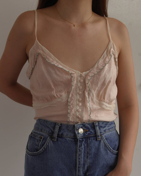 Vintage 90s Chloé SIlk Top