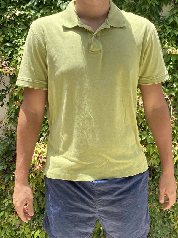 Vintage LIme Green Polo