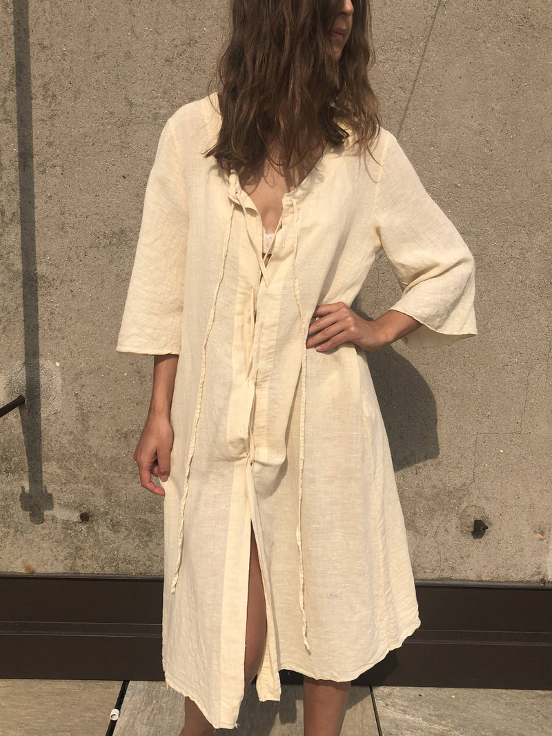 Linen summer dress made in Italy