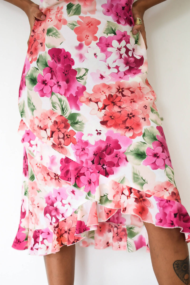 Vintage romantic summer dress