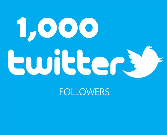 Get an 1,000 Twitter Followers ADS