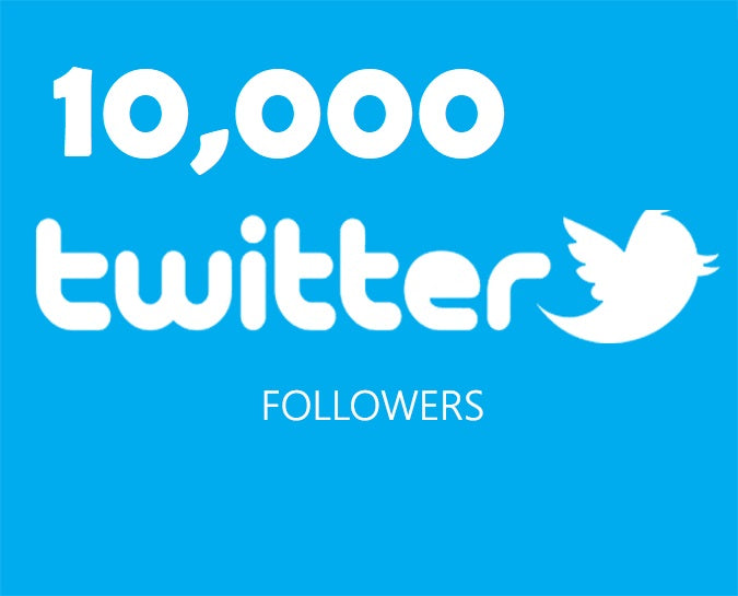 Get an 10,000 Twitter Followers ADS