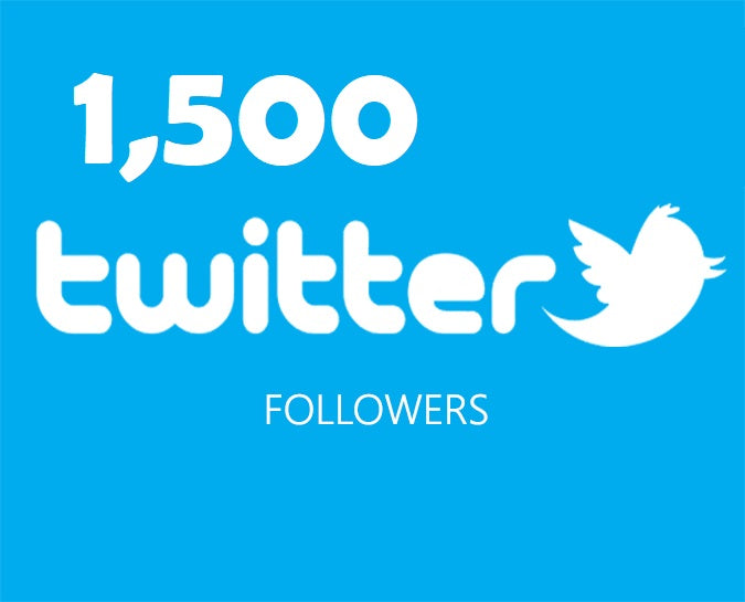 Get an 1500 Twitter Followers ADS