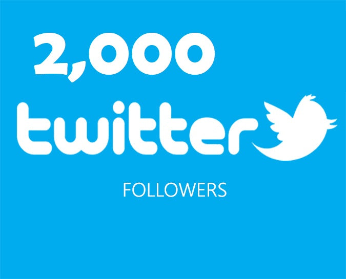 Get an 2,000 Twitter Followers ADS