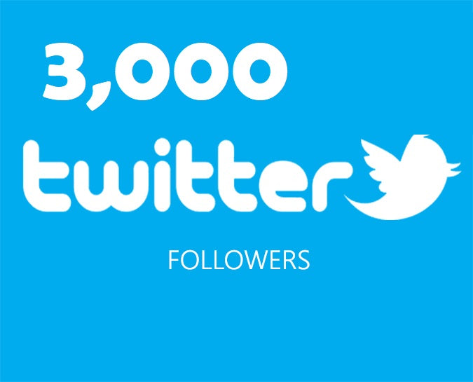 Get an 3,000 Twitter Followers ADS
