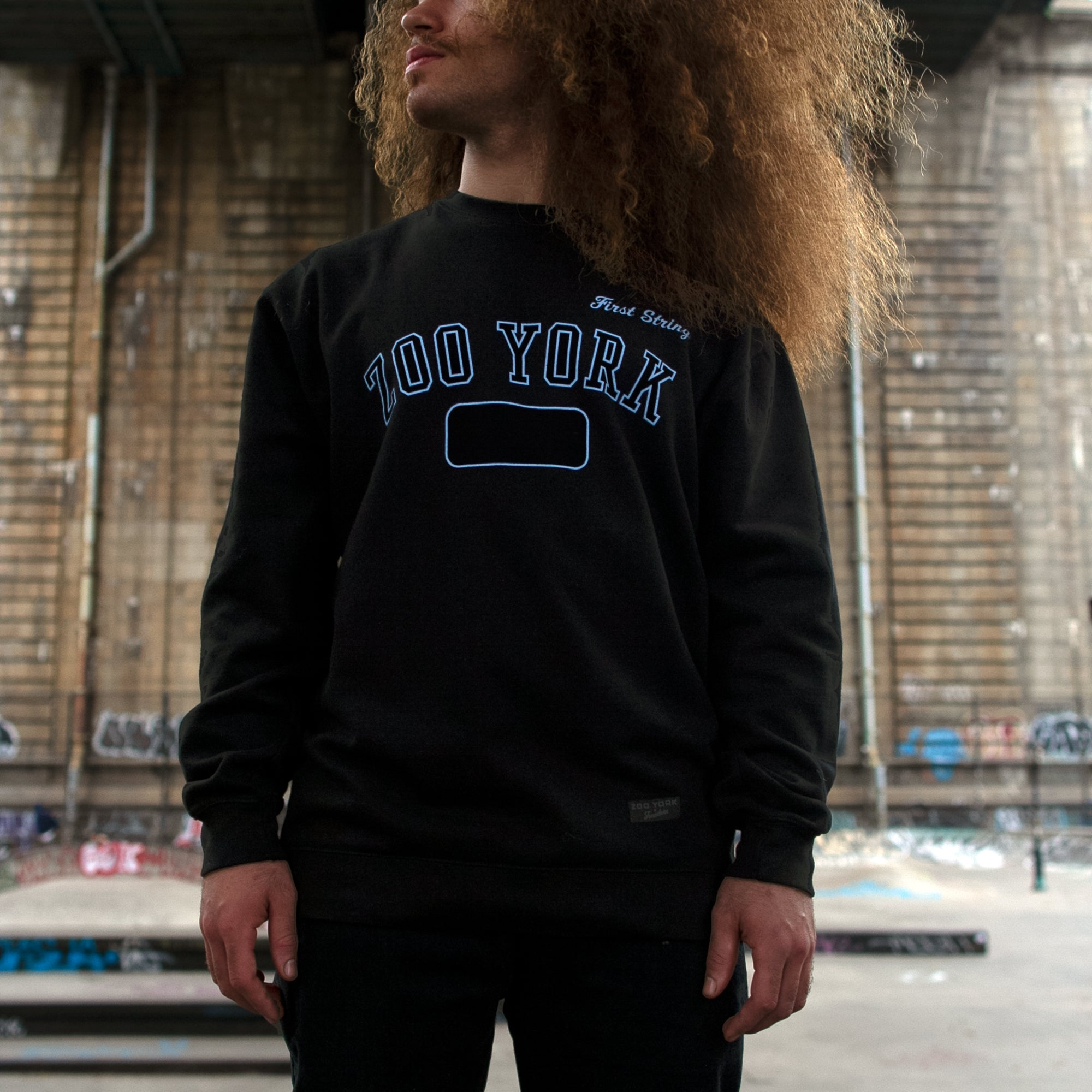 HAROLD HUNTER VARSITY SWEATSHIRT