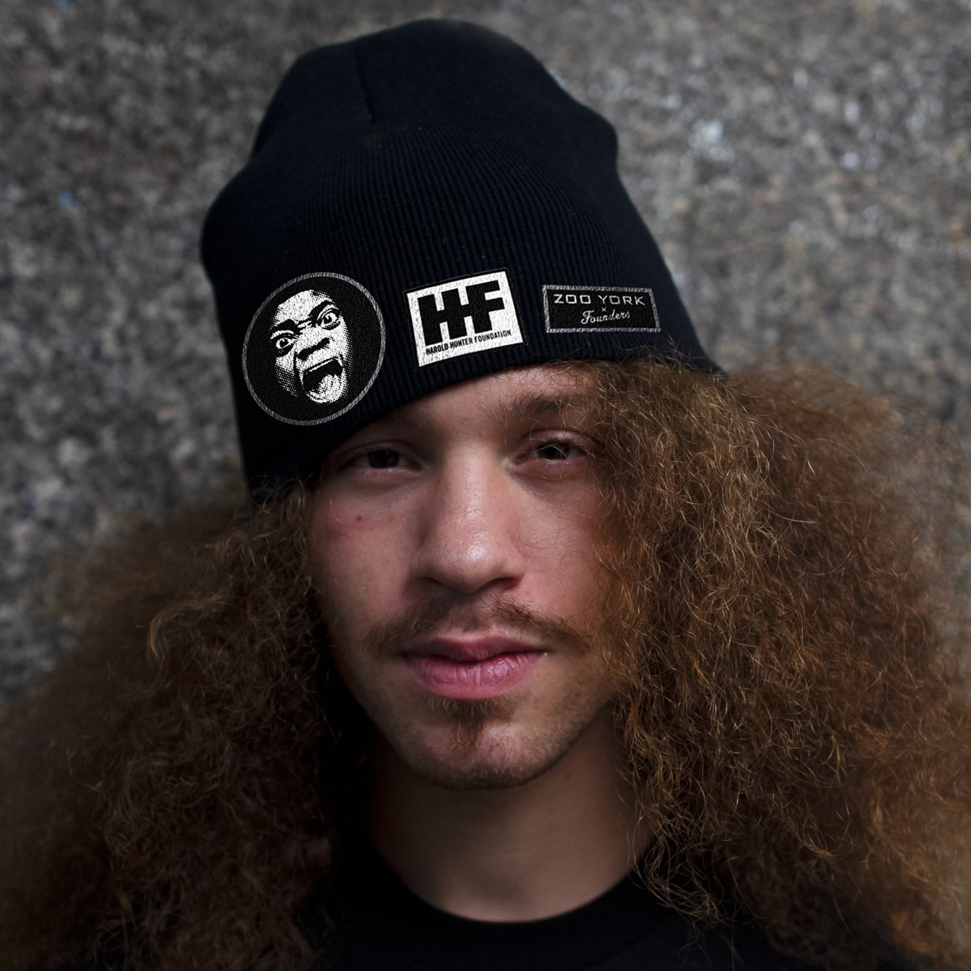 HAROLD HUNTER BEANIE HAT