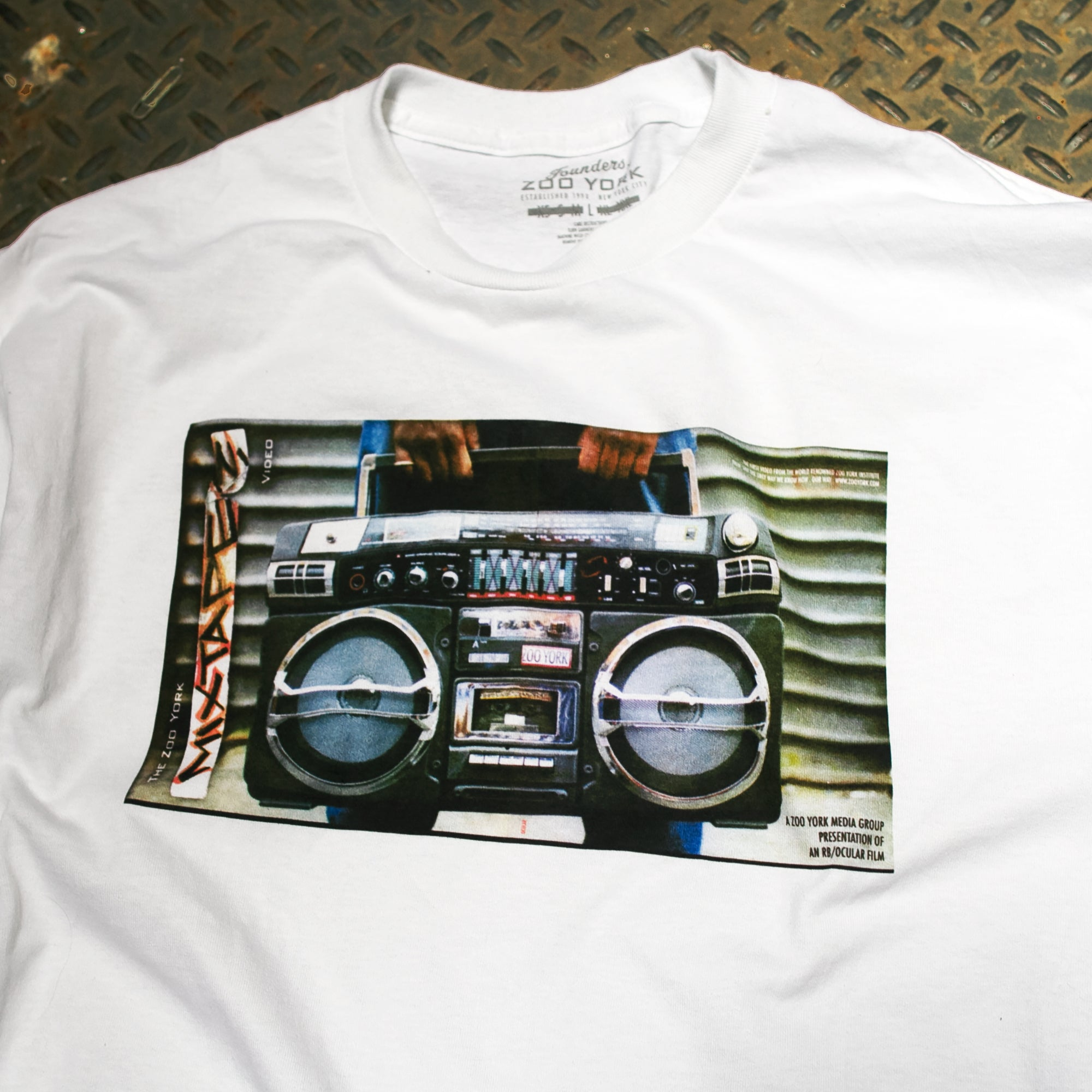 MIX TAPE GRAPHIC T-SHIRT