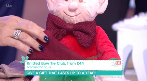 As seen on ITV's This Morning