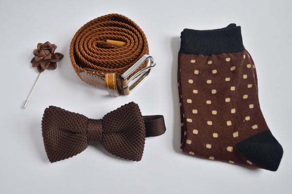 Mens Gift Set - Brown Style Box