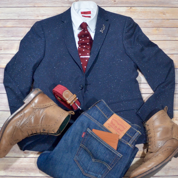 Mens style guide this winter jacket and boots