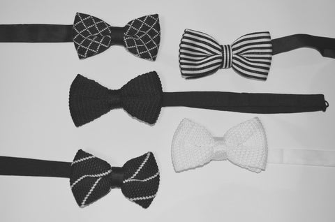Bow ties for a sophisticated wedding