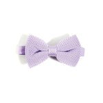 Lavender Knitted Bow Tie | Wedding
