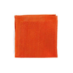 Knitted Pocket Square - Burnt Orange