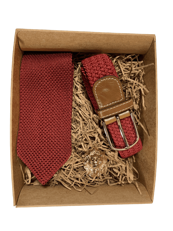 Knitted Tie Gift Set - Box 3