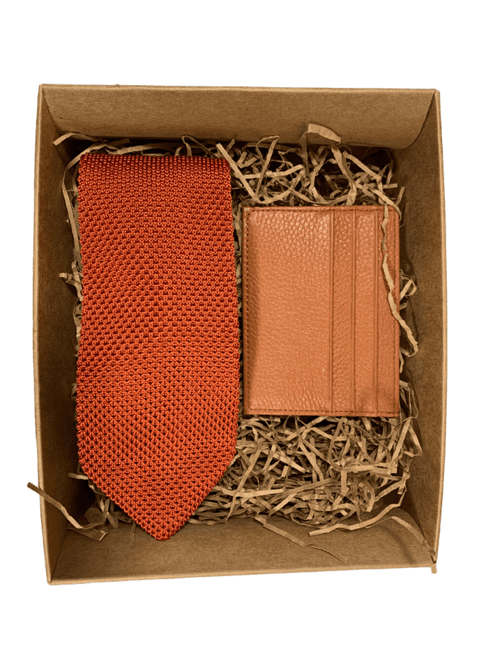 Knitted Tie Gift Set - Box 6