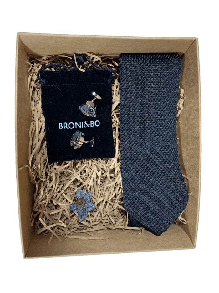 Knitted Tie Gift Set - Box 8