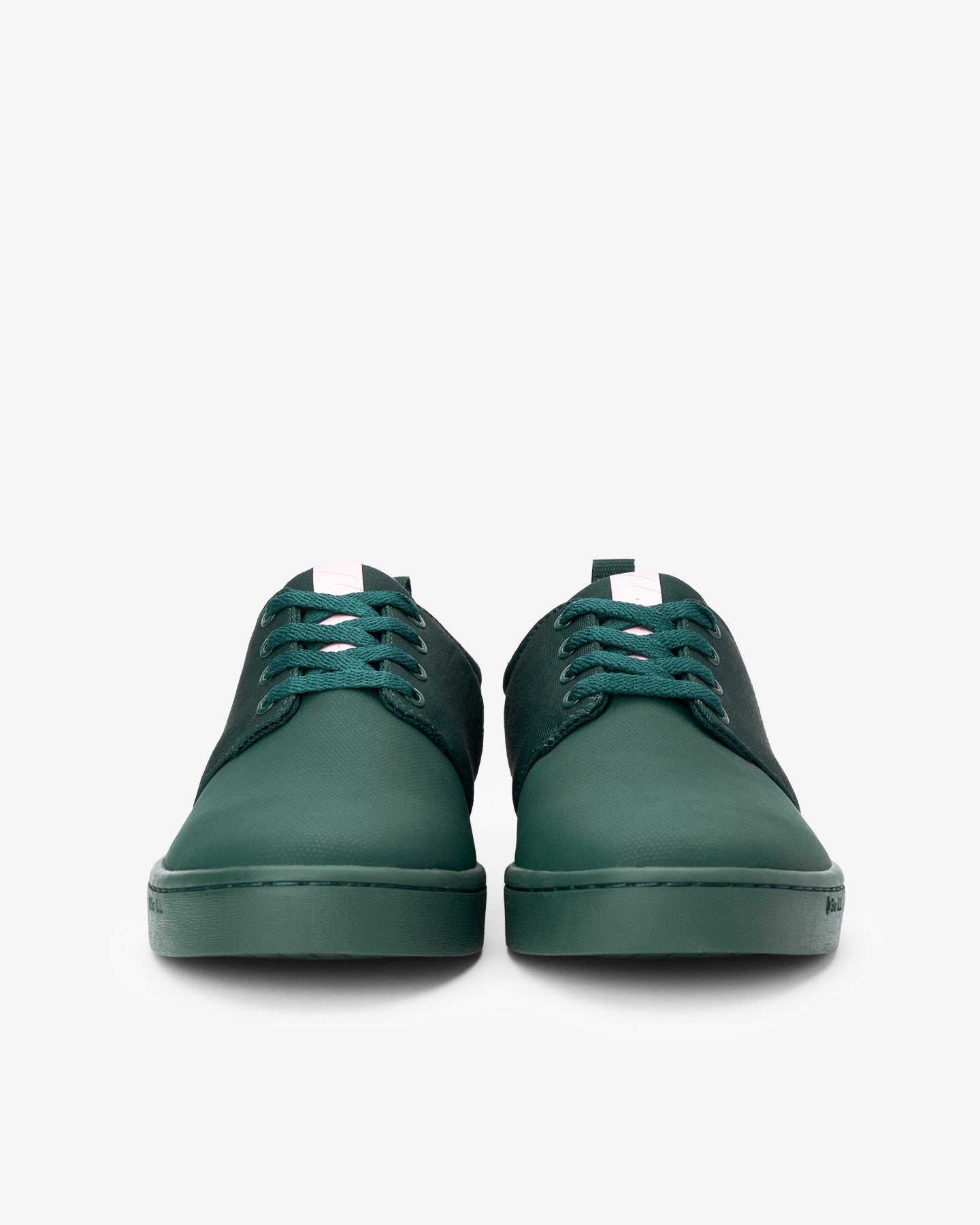 Pounamu Green Wino pair of shoes from the front
