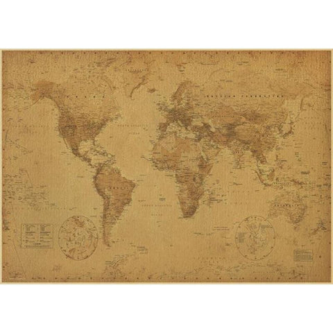 Carte du Monde Antique
