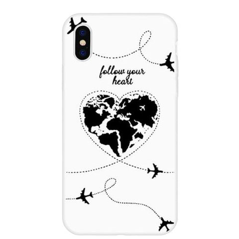 Coque Iphone 8 Carte du Monde