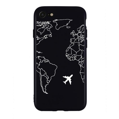 Coque Iphone XR Carte du Monde