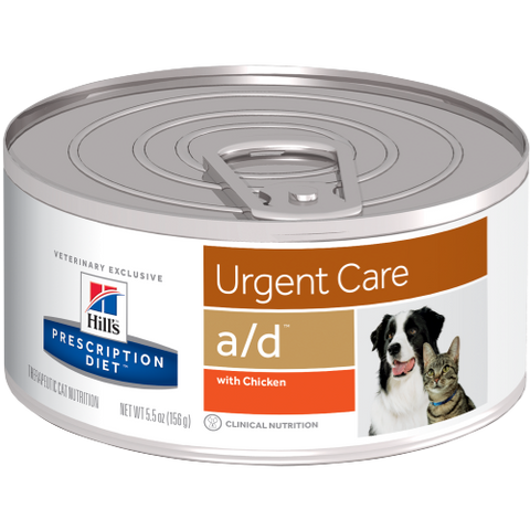 a/d canine/feline Hill's Prescription Diet - Urgent Care