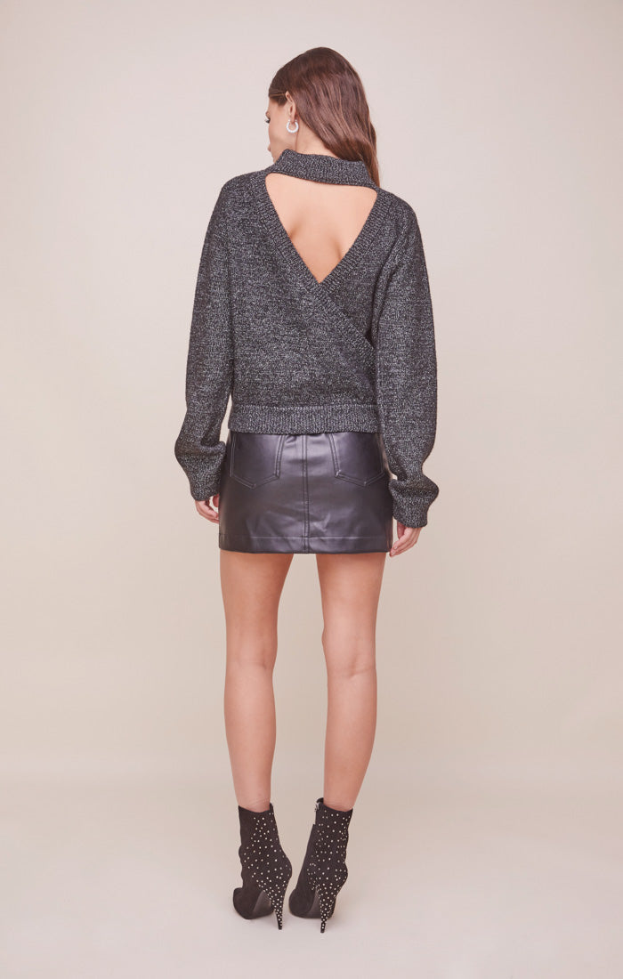 Arabella Open Back Sweater