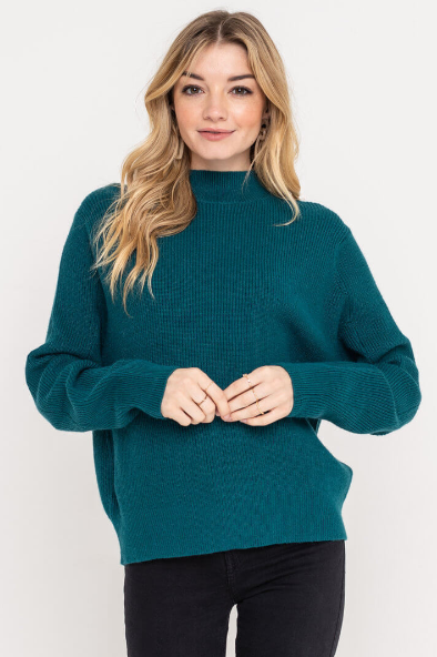 NOCC Teal Sweater