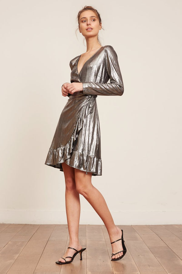 Laurel Shimmer Dress