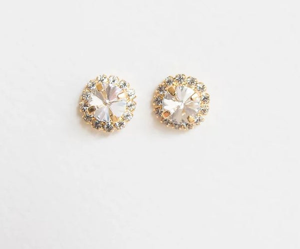 Mia Gold Stud Earrings
