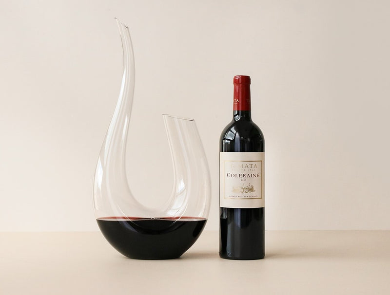 Luxury Red Wine & Decanter