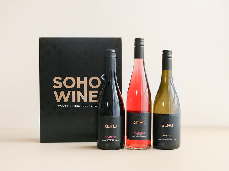 Soho Wine Box - Black