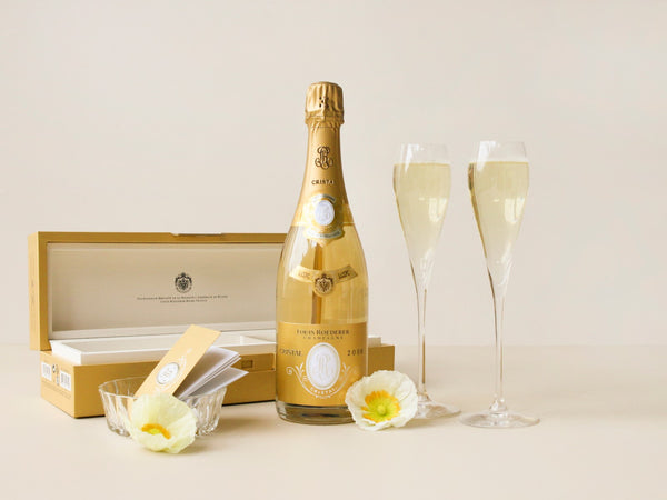 Cristal Champagne Gift Box