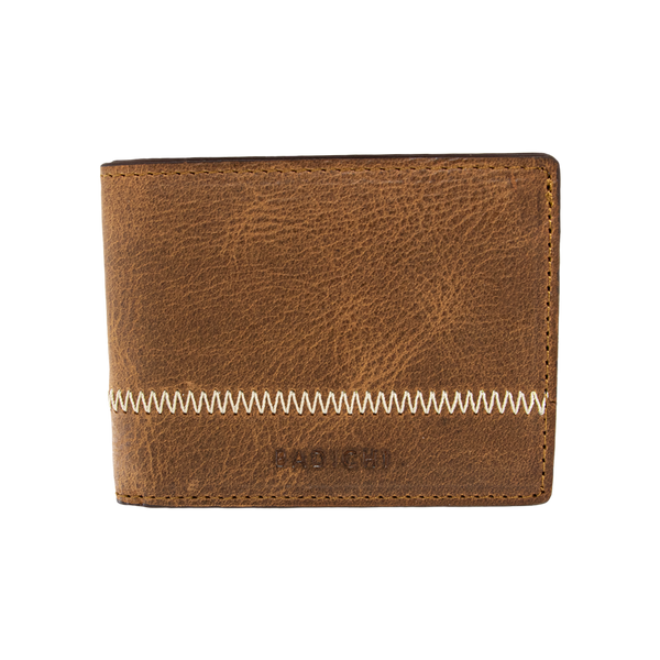 Slim Billfold Wallet Cognac