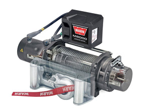 WARN M8000 LP 12v WINCH for Jeep, Truck and SUV - 26502