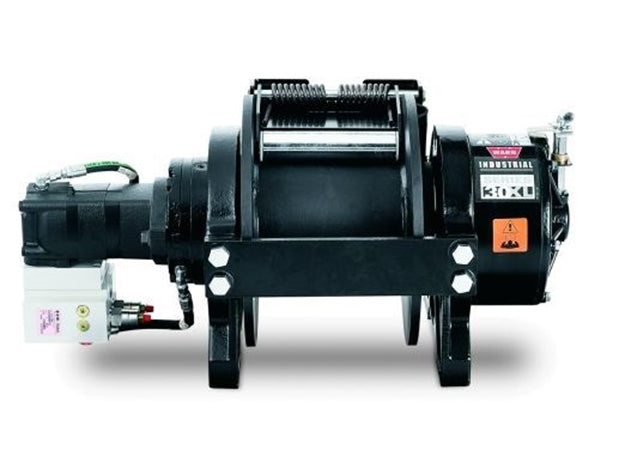 WARN SERIES 30XL HYDRAULIC WINCH, STANDARD DRUM, MANUAL CLUTCH - 30,000 LB - 77880