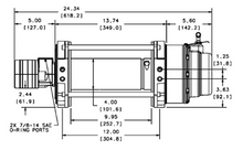Load image into Gallery viewer, WARN SERIES 15 HYDRAULIC WINCH - 15,000 LB - 65931
