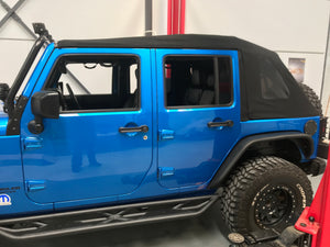 Topfire Wilder Side Steps 4dr JKU