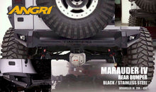 Load image into Gallery viewer, Topfire Marauder IV Rear Bumper JK/JKU