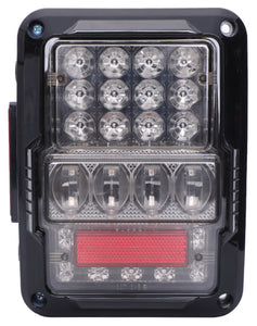 TAIL LIGHTS - SPIDER EYES LED replacement for Wrangler JK/JKU (pair)