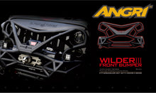 Load image into Gallery viewer, Topfire Wilder III Stainless Steel Front Bumper JK/JKU