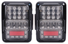Load image into Gallery viewer, TAIL LIGHTS - SPIDER EYES LED replacement for Wrangler JK/JKU (pair)
