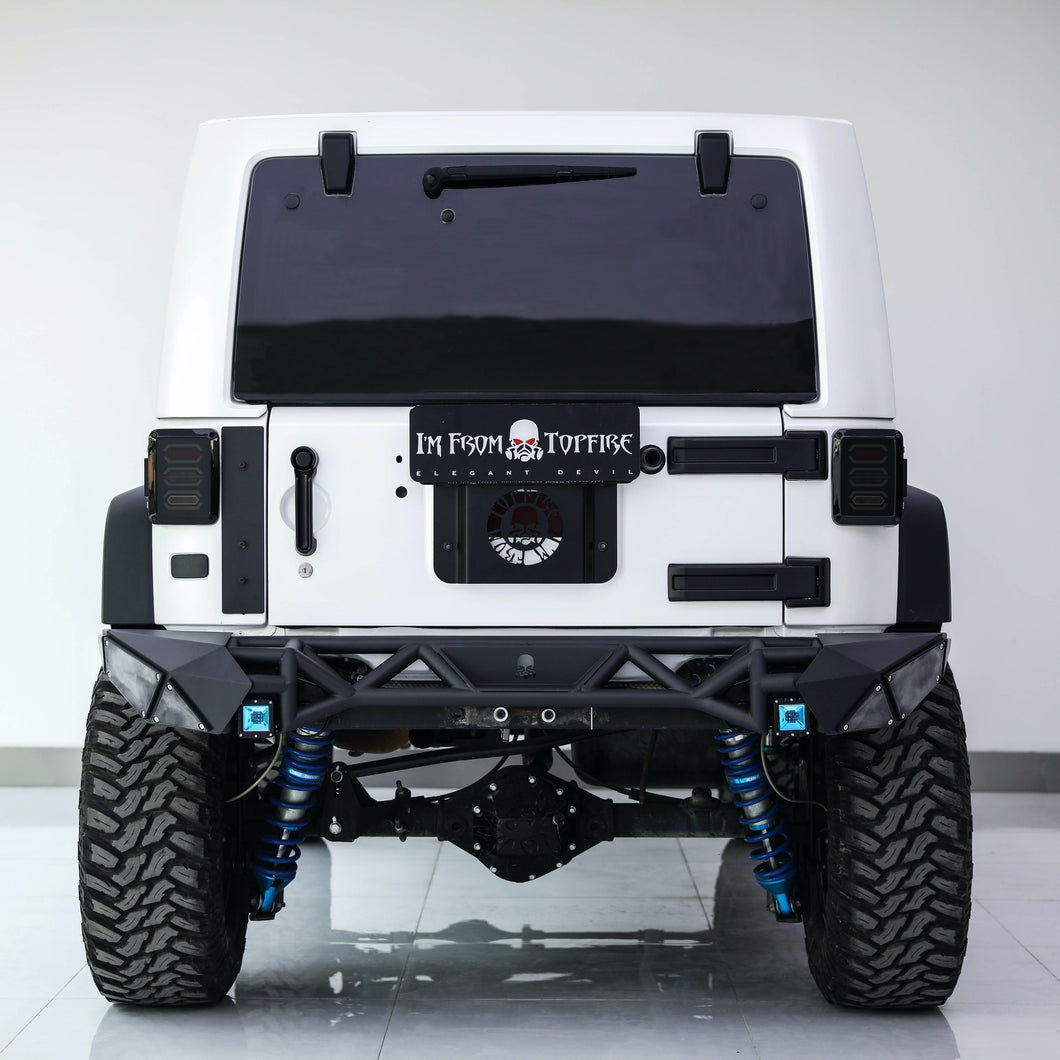 Topfire Fragment II Rear Bumper (Long) JK/JKU