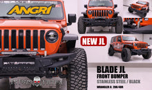 Load image into Gallery viewer, Topfire Blade for JL Stainless Steel Front Bumper JL/JLU
