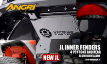 Load image into Gallery viewer, Topfire Inner Fender Kit (All 4) JL/JLU