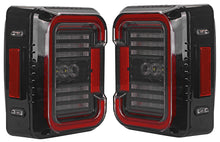 Load image into Gallery viewer, TAIL LIGHTS - CEE 'C' CLEAR SMOKE LED replacement for Wrangler JK/JKU (pair)